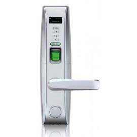 ZK L4000PD - CERRADURA BIOMETRICA PLATEADA DERECHA/ MENU EN PANTALLA/ USB/ 500 HUELLAS/ 30000 REGISTROS