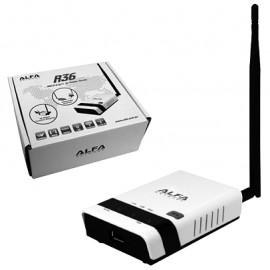 ALFA R36 - EXTENSOR WIRELESS Y ROUTER 3G / DUAL SSID / IEEE 802.11 G/N / FIREWALL / DDNS