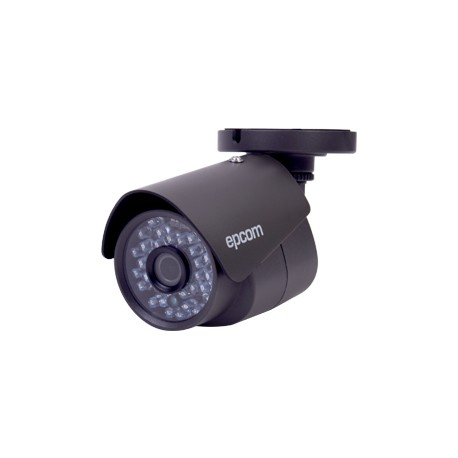 Cámara bala TurboHD 1080p, GRAN ANGULAR (lente 2.8mm), IR inteligente para 20mts., Color gris oscuro