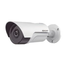 Cámara bala TurboHD 1080P con lente fijo de 3.6mm e IR inteligente con Doble EXIR polarizado para 80m, Color blanco