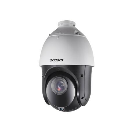 "Mini Domo PTZ 4"" Analógico/TurboHD, 1080p, 23x Zoom Optico, 16x zoom digital, Día/Noche (ICR), 100m IR, DWDR, 12VCD"