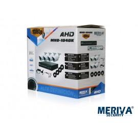 KIT 1080P MHD-1040K DVR 8CH MHD-1030-08+ 4 CAM MHD-2201+CBLS