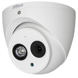 DAHUA HDAW1200EMA36- CAMARA DOMO HDCVI 1080P/ AUDIO INTEGRADO/ LENTE 3.6MM/ VISION 90 GRADOS/ SMART IR 50 MTS/ IP67