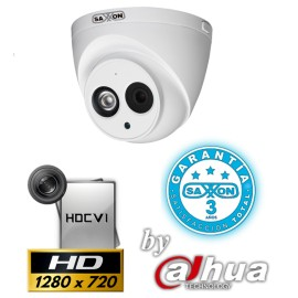 SAXXON HDWAPRO CAMARA PRO DOMO 1MP 720P/ MICROFONO INTEGRADO/ SMART IR 50MTS/ IP67/ 3.6MM/ METAL