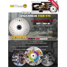 CAMARA 360º HDCVI   HDTVI  AHD ANALOGO